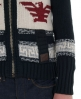 Superdry Big Zip Buffalo Knit Navy