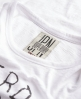 Superdry Destroyed Drapey T-shirt White