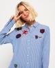 Superdry Frankie Shirt Navy