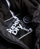 Superdry Sports donsjack Zwart