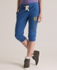 Superdry Training Capri Pant Blue