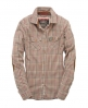 Superdry Country Flannel Shirt Brown