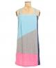 Superdry Colour Block Dress Blue