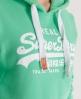 Superdry Vintage Hoodie Green