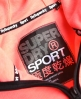 Superdry Gym Tech Kapuzenjacke  Koralle