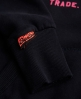 Superdry Vintage Logo Tri-Colour  Hoodie Navy