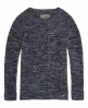 Superdry Austin Cotton Rib Knit Jumper Navy