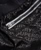 Superdry Sport Mesh Insert Shorts Black