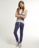 Superdry Applique Slim Joggers Purple