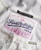 Superdry Brushed Lace Top White