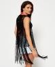 Superdry Dream Catcher Crochet Waistcoat Black