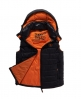 Superdry Senjo Hooded Gilet Black