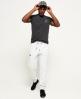 Superdry Orange Label Slim Joggers Light Grey