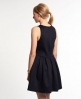 Superdry High Neck Scuba Dress Black