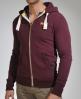 Superdry Vintage Zip Hood Purple