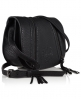 Superdry Zipped Saddle Bag  Black