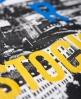 Superdry T-shirt Box Photo City Stockholm Noir