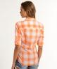Superdry Sheer Ombre Shirt Orange
