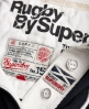 Superdry Valiant Rugby Shirt Navy