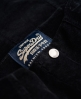 Superdry Corduroy Button Through Rock Schwarz