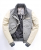 Superdry Smashed Baseball Jacket Lt/grey