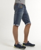 Superdry Officer Slim Shorts Mid Blue