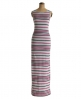 Superdry Scoop Back Maxi Dress Pink