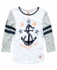 Superdry Nautical Football Top White