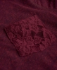 Superdry Essentials Lace Slouch Shirt Rot
