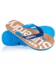 Superdry Cork Flip Flops Blue
