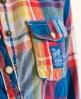 Superdry Lumberjack Skater Shirt Blue