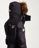 Superdry Veste à capuche en fourrure à doublure sherpa SD-Wind Attacker Gris Foncé