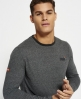 Superdry Orange Label织纹T恤 灰色