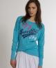 Superdry Burnout Saint T-shirt Blue