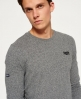 Superdry Orange Label Cuffed T-shirt Grey
