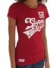 Superdry Curve 58 T-shirt Red