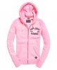 Superdry Sweat à capuche zippé Appliqué Rose
