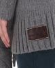 Superdry Oslo Knit Cardigan Light Grey