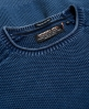 Superdry Sudadera teñida y texturada de cuello redondo L.A. Azul