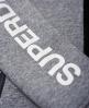 Superdry Superdry Gym Tech Zip Hoodie  Light Grey