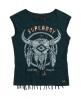 Superdry Savanna Fringe Skull T-Shirt  Grün