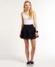 Superdry Broderie Shimmer Skirt Navy