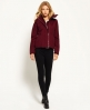 Superdry Cazadora con capucha Fur Sherpa Wind Attacker Morado