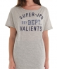 Superdry Sheer Oversized T-shirt Lt/grey