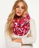 Superdry Spacedye Beatnik snood Rood