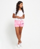 Superdry Pantalones cortos Track & Field Rosa