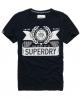 Superdry Nicotine T-shirt Navy