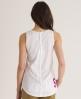 Superdry Scoop Button Vest White