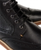 Superdry Shooter Leather Boots Black