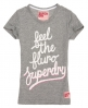 Superdry Feel The Fluro T-shirt Grey